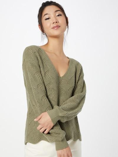 ABOUT YOU Trui 'Eleni' in de kleur Olijfgroen, Modelweergave