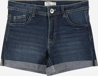 Jeans OVS pe albastru denim, Vizualizare produs
