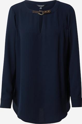 Camicia da donna 'TESSA' di Lauren Ralph Lauren in blu