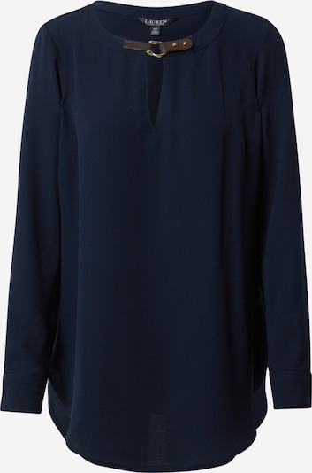 Lauren Ralph Lauren Blūze 'TESSA', krāsa - tumši zils / tumši brūns, Preces skats