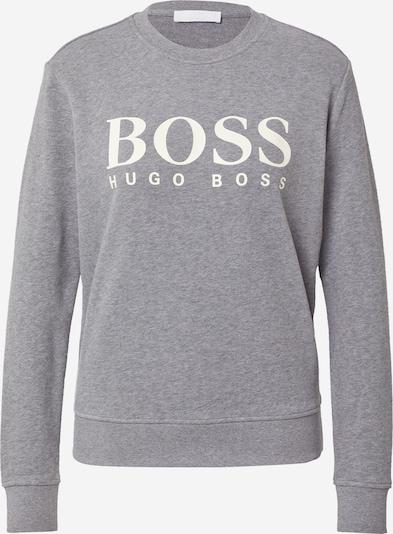 BOSS Casual Sweatshirt in mottled grey / White, Item view