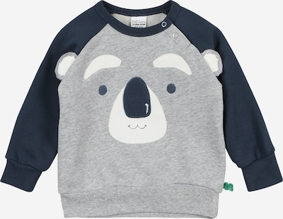 Fred's World by GREEN COTTON Sweatshirt 'Koala' in blau / graumeliert / weiß, Produktansicht