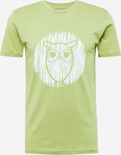 KnowledgeCotton Apparel T-Shirt 'ALDER' in grün / mint, Produktansicht