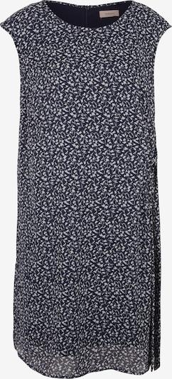 TRIANGLE Kleid in dunkelblau / weiß, Produktansicht
