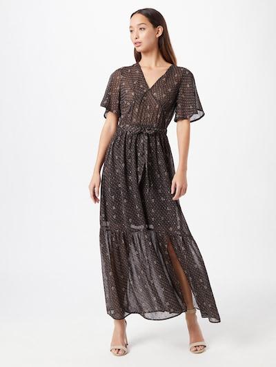Grace & Mila Kleid 'BELLA' in braun / schwarz / weiß, Modelansicht