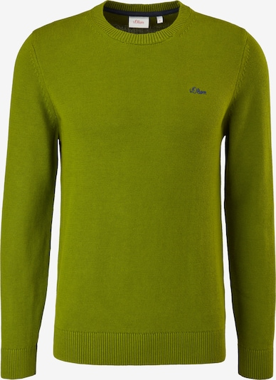 s.Oliver Pullover in Lime, Item view