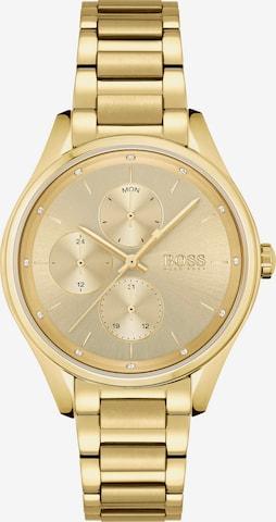 Orologio analogico 'Grand Course' di BOSS Casual in oro