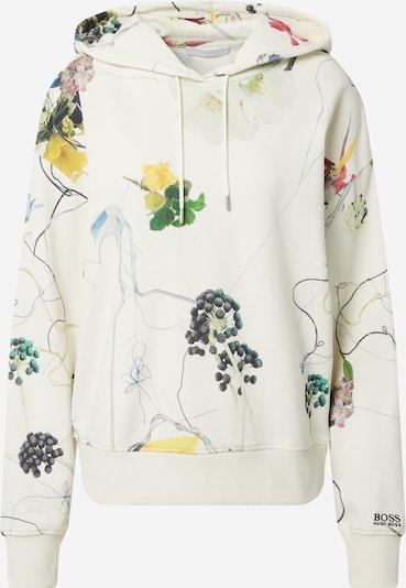 BOSS Sweat-shirt 'Eleandrea' en beige / mélange de couleurs, Vue avec produit