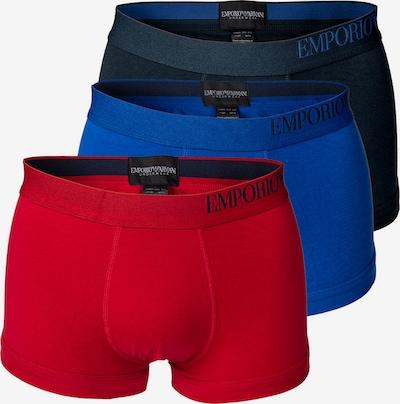 Emporio Armani Boxershorts in blau / marine / rot, Produktansicht
