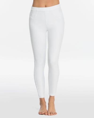 SPANX Leggings 'Jean-Ish' en blanc, Vue avec modèle