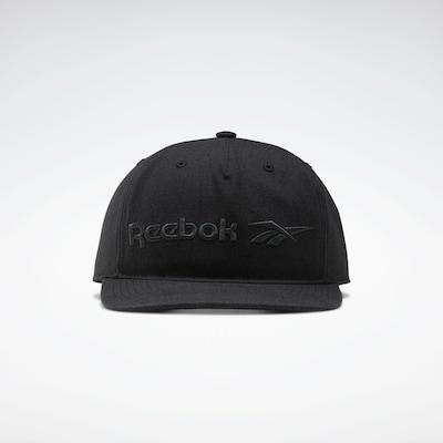 Reebok Classics Cap in schwarz, Produktansicht