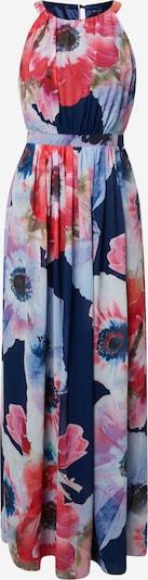 SWING Kleid in hellblau / dunkelblau / rot, Produktansicht
