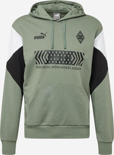 Hanorac sport 'Borussia Mönchengladbach' PUMA pe oliv / negru / alb, Vizualizare produs