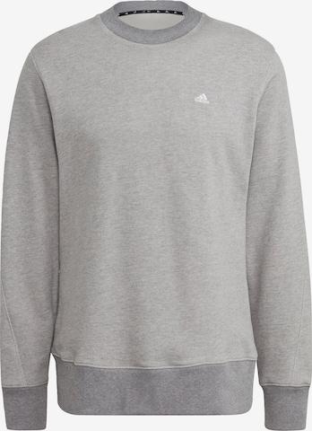 ADIDAS PERFORMANCE Sport sweatshirt i grå