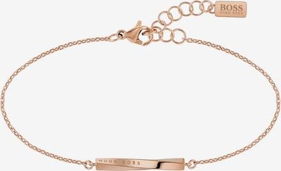 BOSS Armband 'SIGNATURE' in rosegold, Produktansicht