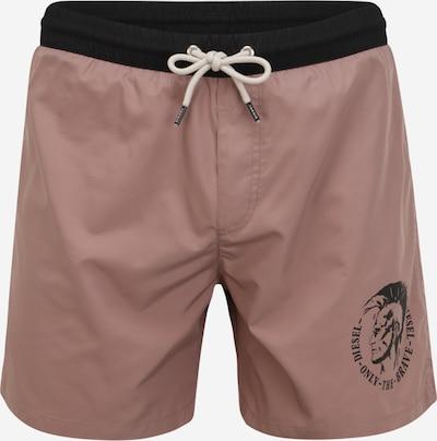 DIESEL Shorts de bain en violet pastel / noir, Vue avec produit