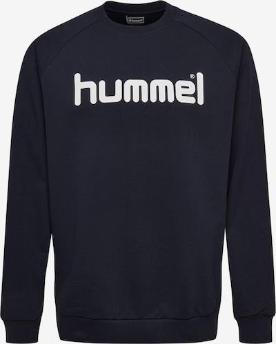 Hummel Sweatshirt in blau / weiß, Produktansicht