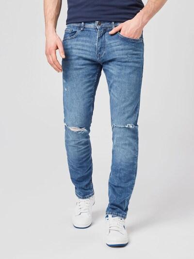 TOM TAILOR DENIM Jeans 'Piers' in de kleur Blauw denim, Modelweergave