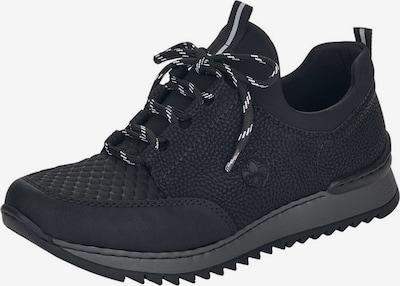 RIEKER Låg sneaker i svart / vit, Produktvy