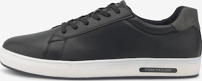 TOM TAILOR Sneakers laag in de kleur Zwart, Productweergave