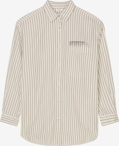 Marc O'Polo DENIM Bluse in creme / schwarz, Produktansicht