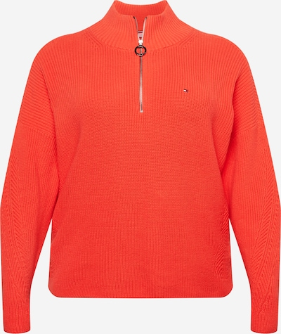 Tommy Hilfiger Curve Pullover in rot, Produktansicht