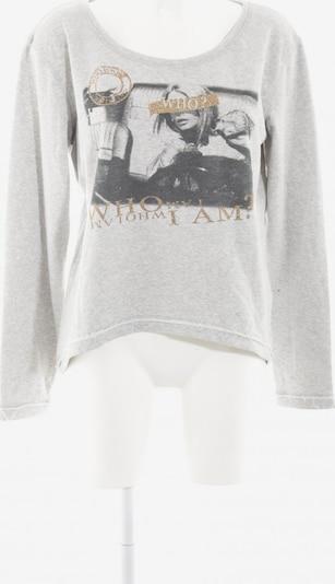 MARGITTES Sweatshirt in L in gold / hellgrau / schwarz, Produktansicht