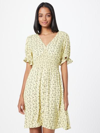 Vasarinė suknelė iš NU-IN, spalva – šviesiai geltona / juoda: Vaizdas iš priekio