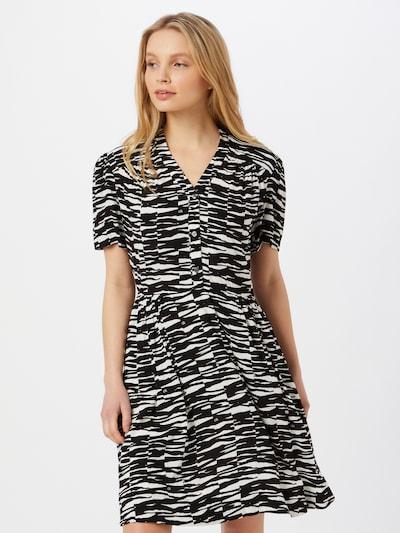 Calvin Klein Košilové šaty - černá / bílá, Model/ka