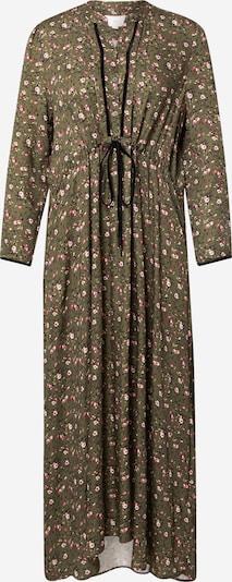 La Martina Vestido camisero en oliva / rosa / blanco, Vista del producto