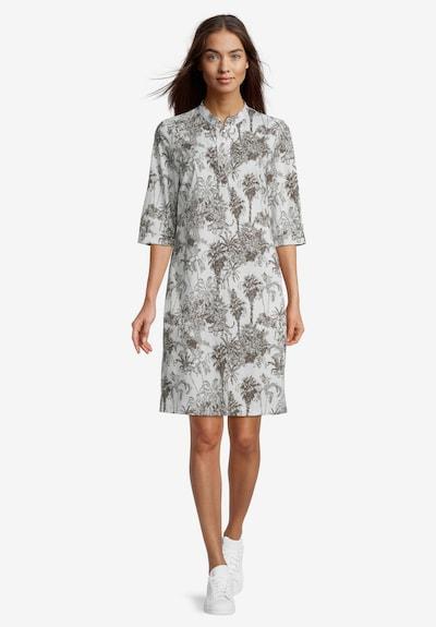 Vera Mont Hemdblusenkleid mit Taschen in beige / braun, Modelansicht
