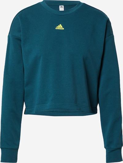 ADIDAS PERFORMANCE Sportiska tipa džemperis 'W UFORU SWT' citronkrāsas / sarkanīgi ēnots, Preces skats