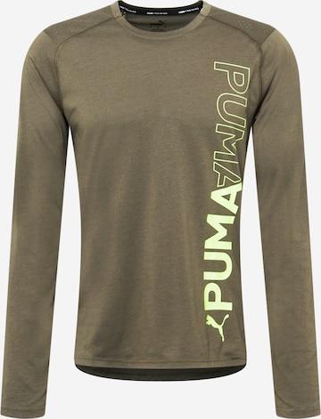 T-Shirt fonctionnel PUMA en vert