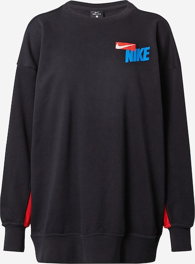 NIKE Sports sweatshirt in sky blue / red / black / white, Item view