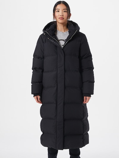 GUESS Mantel 'Adiva' in schwarz, Modelansicht
