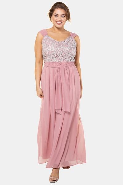 Ulla Popken Kleid in rosa, Modelansicht