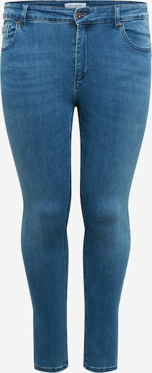 ONLY Carmakoma Jeans 'Wilma' in blue denim: Frontalansicht