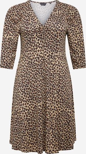 Dorothy Perkins Curve Robe en beige / marron / noir, Vue avec produit