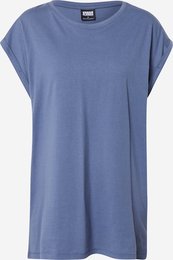 Urban Classics Curvy Majica 'Extended Shoulder' | golobje modra barva, Prikaz izdelka