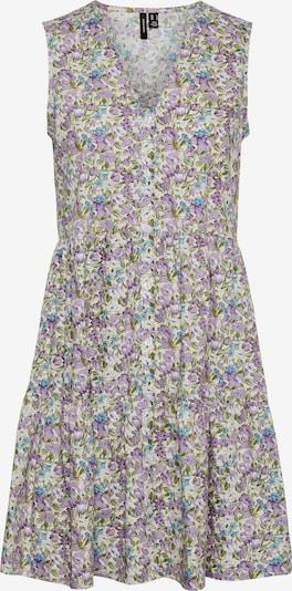 VERO MODA Košeľové šaty 'Margo' - béžová / zelená / fialová / tmavofialová, Produkt