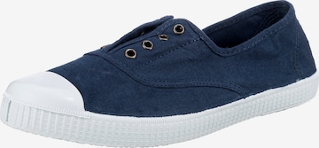 VICTORIA Slip-Ons in Blue