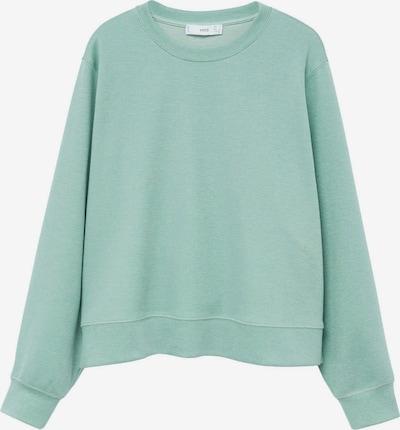 MANGO Sweatshirt 'Pique 8' in pastellgrün, Produktansicht