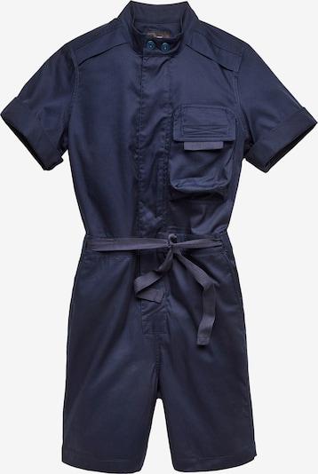 G-Star RAW Jumpsuit in de kleur Nachtblauw, Productweergave
