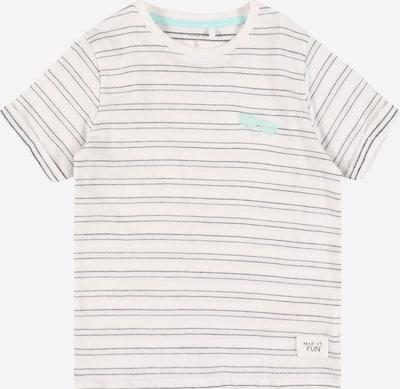 NAME IT Tričko 'FORT' - tmavomodrá / jedľová / biela, Produkt