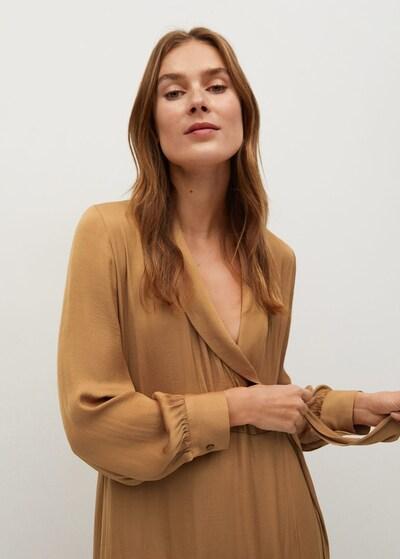 MANGO Kleid pasq-a in braun, Modelansicht
