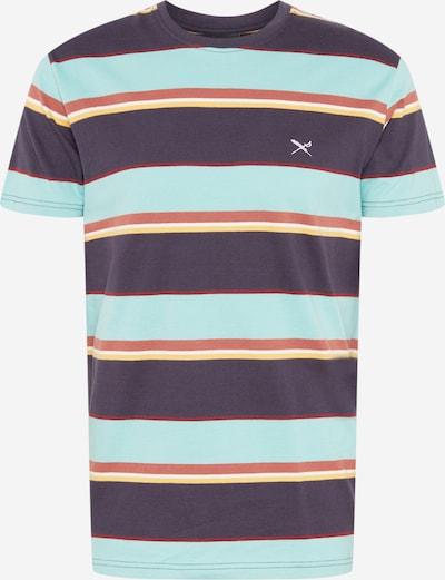 Iriedaily T-Krekls 'Big Tony' kamuflāžas / debeszils / gaiši dzeltens / omāru, Preces skats
