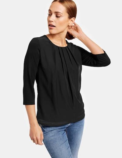 TAIFUN Bluse in schwarz, Modelansicht