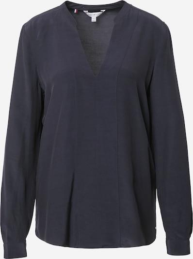 TOMMY HILFIGER Bluse in dunkelblau, Produktansicht