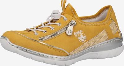 RIEKER Schnürschuh in gelb, Produktansicht