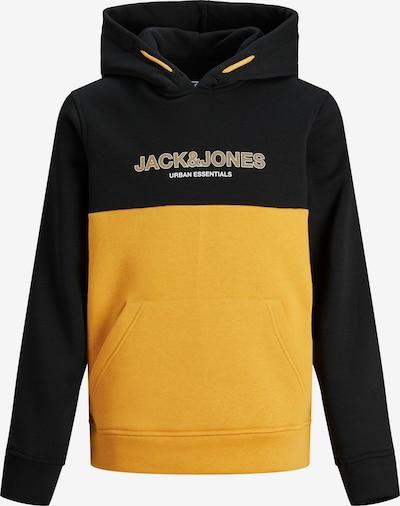 Bluză de molton 'Urban' Jack & Jones Junior pe portocaliu deschis / negru / alb, Vizualizare produs